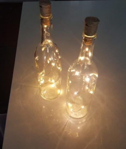 Bouteille Led