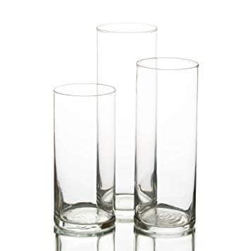 Trio de Vases Cylindriques